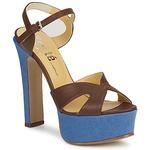 Sandalen / Sandaletten Keyté CUBA-LUX-MARRONE-FLY-9