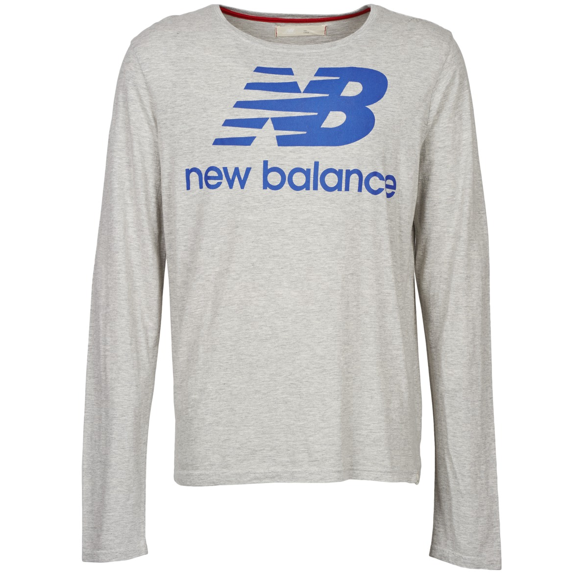 New Balance NBSS1403 LONG SLEEVE TEE Grau
