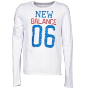 Langarmshirts New Balance NBSS1404 GRAPHIC LONG SLEEVE TEE