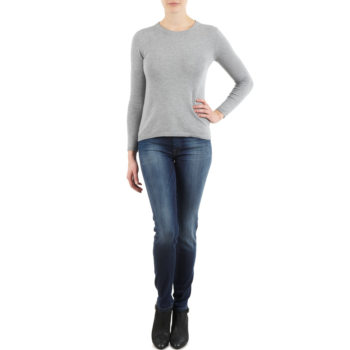 7 for all Mankind THE SKINNY NEW ORL FLAME Blau