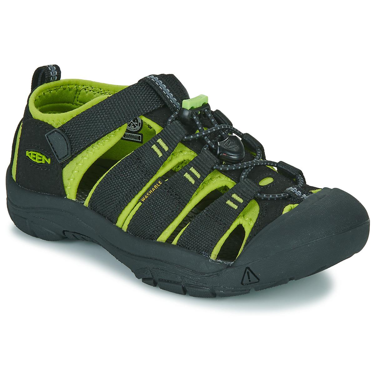sportliche sandalen keen kids newport h2 schwarz gr n. Black Bedroom Furniture Sets. Home Design Ideas