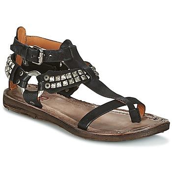 sandalen sandaletten airstep a rame schwarz kostenloser versand bei. Black Bedroom Furniture Sets. Home Design Ideas