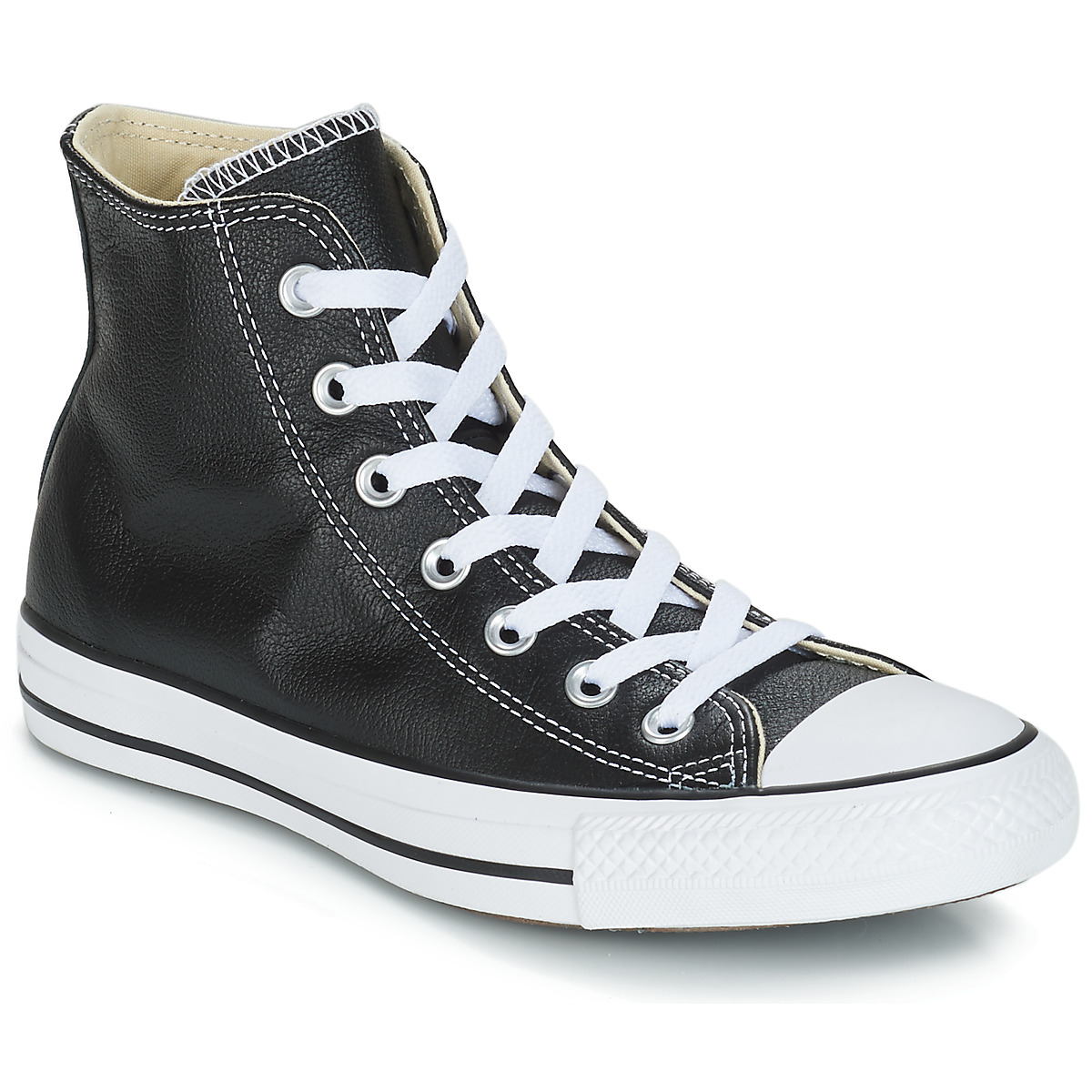 Converse Chuck Taylor All Star CORE LEATHER HI Schwarz
