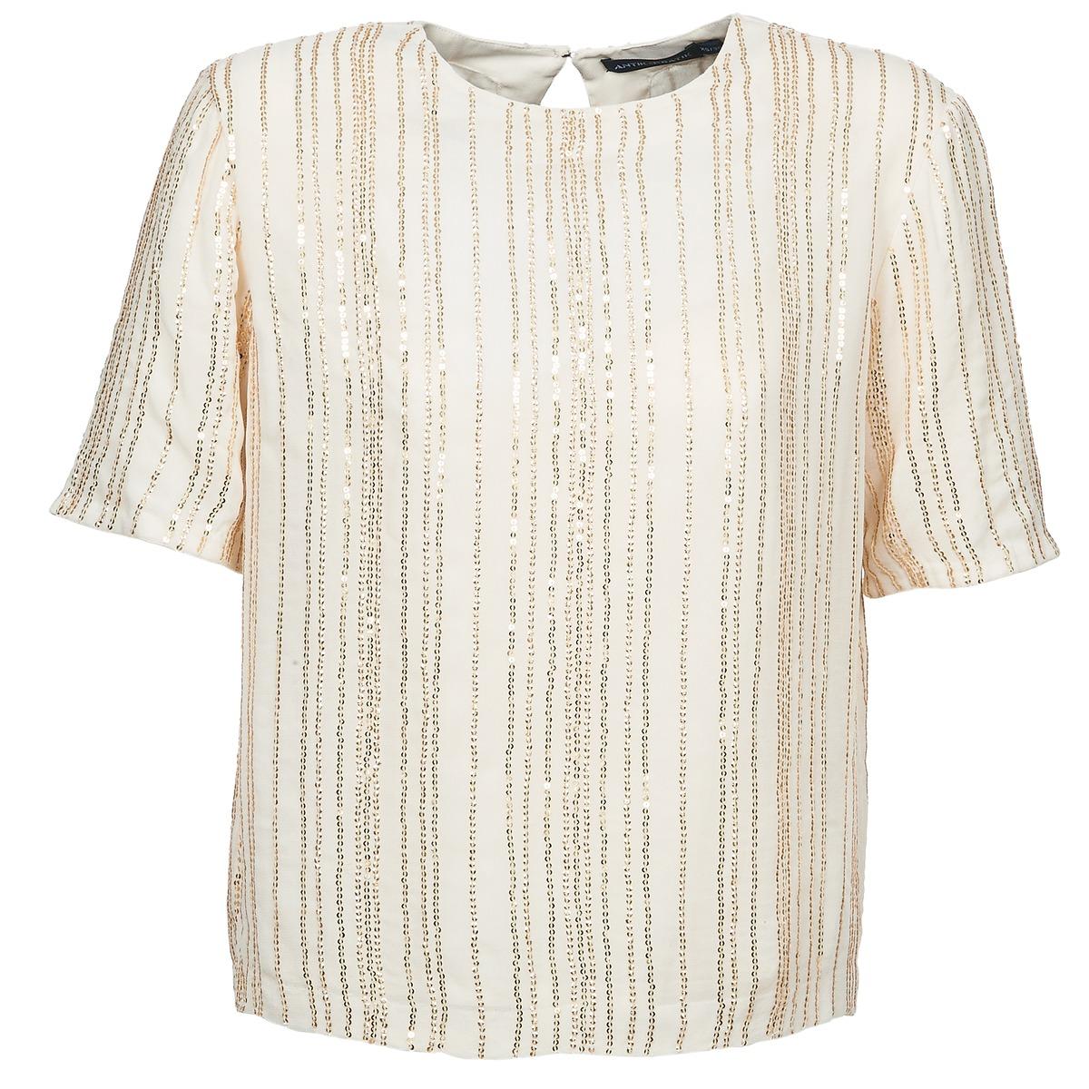 Blusen Antik Batik ROMINA Creme