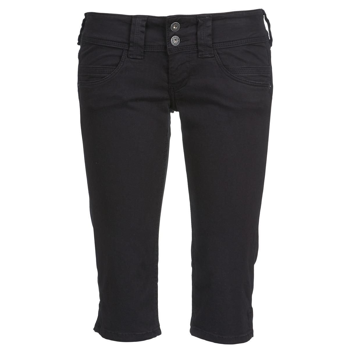 3/4 Hosen & 7/8 Hosen Pepe jeans VENUS CROP Schwarz