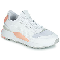 Schuhe Damen Sneaker Low Puma WN RS-0 SOUND.WH-PEACH Weiss / Grau / Rose
