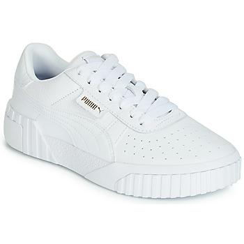 Schuhe Damen Sneaker Low Puma CALI Weiss