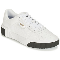 Schuhe Damen Sneaker Low Puma CALI Weiss / Schwarz
