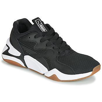 Schuhe Damen Sneaker Low Puma WN NOVA 90'S BLOC.BL-BL Schwarz