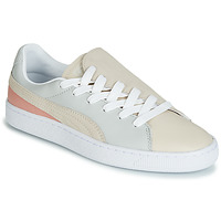 Schuhe Damen Sneaker Low Puma WN BASKET CRUSH PARIS.GRAY Beige