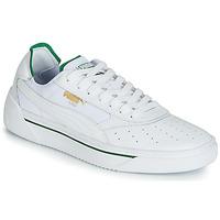 Schuhe Herren Sneaker Low Puma CALI.WH-AMAZON GREEN-WH Weiss / Grün