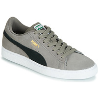 Schuhe Jungen Sneaker Low Puma JR SUEDE CLASSIC.CHARCO-BL Grau