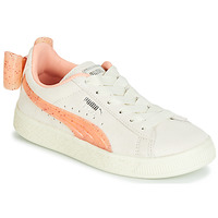 Schuhe Mädchen Sneaker Low Puma PS SUEDE BOW JELLY AC.WHIS Beige