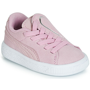 Schuhe Mädchen Sneaker Low Puma INF SUEDE CRUSH AC.LILAC Lila