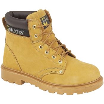 Schuhe Herren Sicherheitsschuh Grafters  Honig