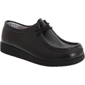 Schuhe Jungen Derby-Schuhe Route 21  Schwarz