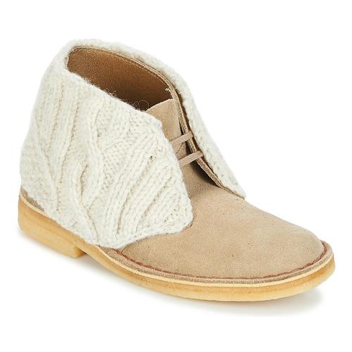 Clarks DESERT Stiefel Sand - Kostenloser Versand       - Schuhe Stiefel Damen 136,50