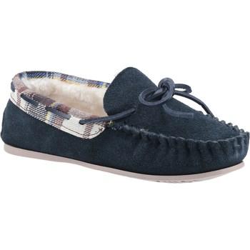 Schuhe Damen Hausschuhe Cotswold  Marineblau