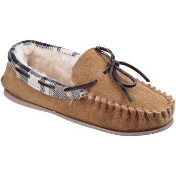 Schuhe Damen Hausschuhe Cotswold  Hellbraun