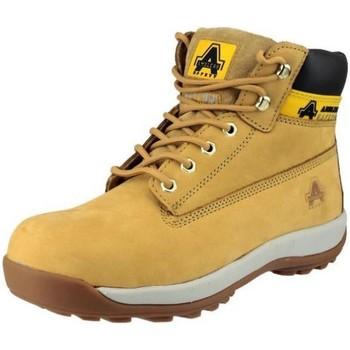Schuhe Herren Sicherheitsschuh Amblers FS102 Safety Honig