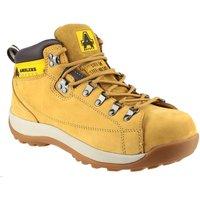 Schuhe Herren Sicherheitsschuh Amblers FS122 Safety Honig
