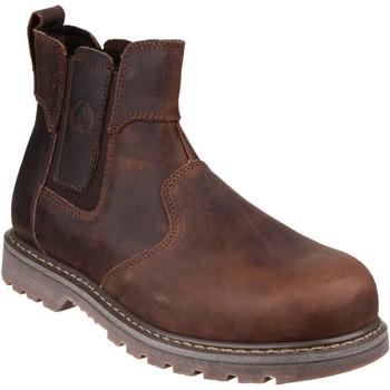 Schuhe Damen Boots Amblers  Braun