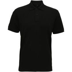 Kleidung Herren Polohemden Asquith & Fox AQ005 Schwarz