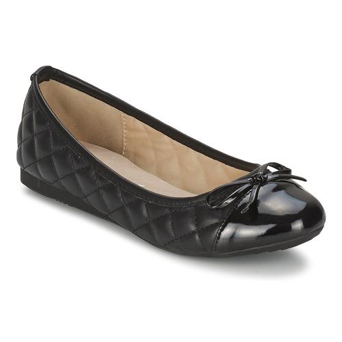 Schuhe Damen Ballerinas Moony Mood NIELA Schwarz