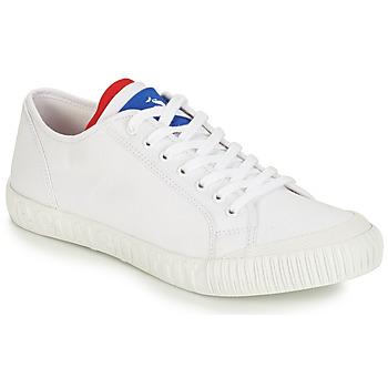 Schuhe Sneaker Low Le Coq Sportif NATIONALE Weiss / Blau / Rot