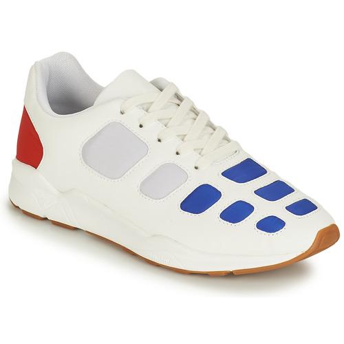 Le Coq Sportif ZEPP Weiss / Blau / Rot Rot Rot  Schuhe Sneaker Low Herren b6ae38