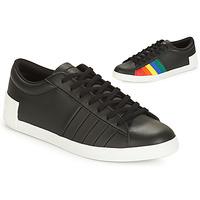 Schuhe Damen Sneaker Low Le Coq Sportif FLAG Schwarz / Multicolor