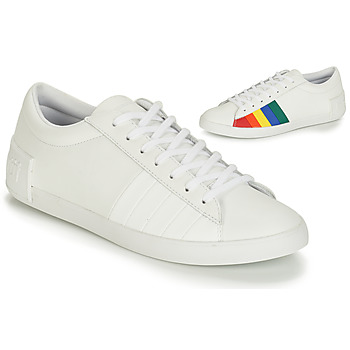 Schuhe Damen Sneaker Low Le Coq Sportif FLAG Weiss / Multicolor