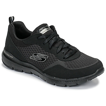 Schuhe Damen Fitness / Training Skechers FLEX APPEAL 3.0 Schwarz
