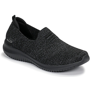 Schuhe Damen Slip on Skechers ULTRA FLEX Schwarz