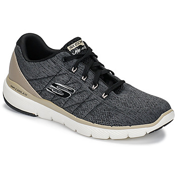 Schuhe Herren Fitness / Training Skechers FLEX ADVANTAGE 3.0 Schwarz