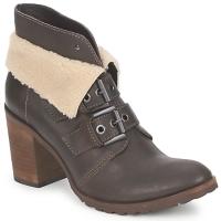 Schuhe Damen Low Boots Un Matin d'Ete BRIAC Braun