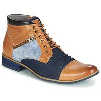 Schuhe Herren Boots Kdopa ALMERIA Camel / Blau
