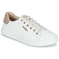 Schuhe Damen Sneaker Low Dockers by Gerli 44MA201-594 Weiss