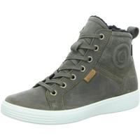 Schuhe Jungen Sneaker High Ecco Schnuerstiefel  S7 TEEN grau