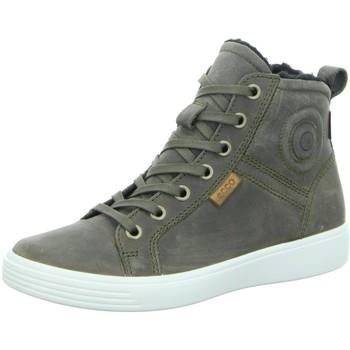Schuhe Jungen Sneaker High Ecco Schnuerstiefel  S7 TEEN 780073/02543 grau