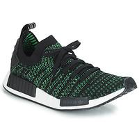 Schuhe Sneaker Low adidas Originals NMD_R1 STLT PK Schwarz / Grün
