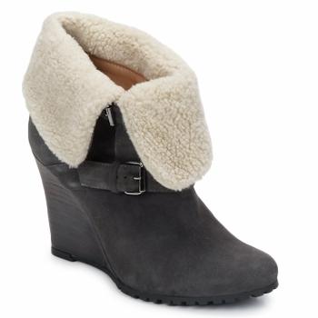Schuhe Damen Low Boots Atelier Voisin CARLA Grau
