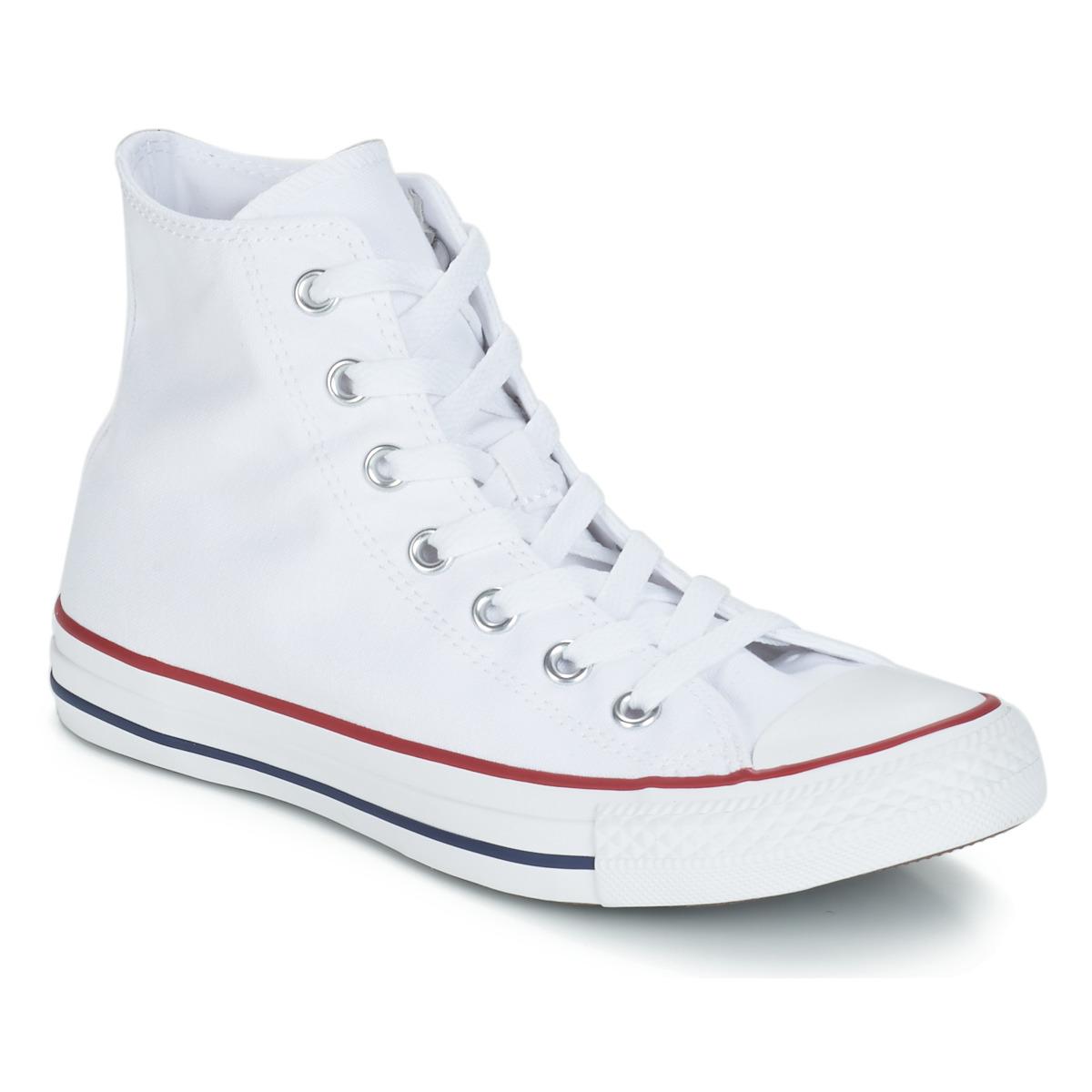 Converse CHUCK TAYLOR ALL STAR CORE HI Weiss - Kostenloser Versand bei Spartoode ! - Schuhe Sneaker High  55,99 €