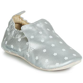 Schuhe Mädchen Hausschuhe Catimini CATA Silbern