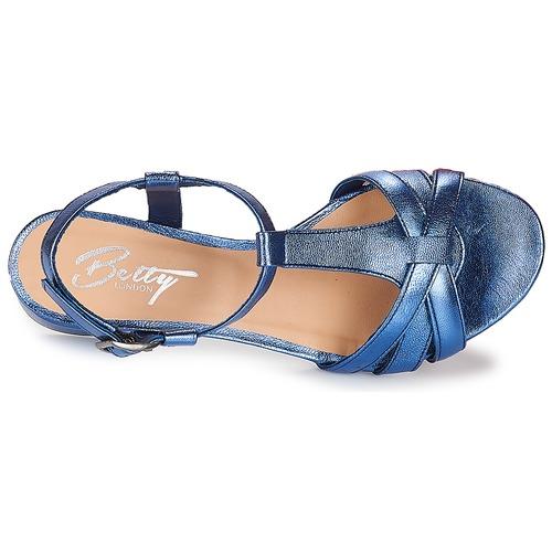 Betty London METISSA Blau  Schuhe Sandalen Sandalen Sandalen   Sandaletten Damen 6d1c9a