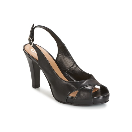 Schuhe Damen Sandalen / Sandaletten Betty London LIMONADE Schwarz