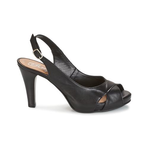 Betty London LIMONADE Schwarz  Schuhe Sandalen / / / Sandaletten Damen 7b5bd9