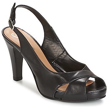 Sandalen / Sandaletten Betty London LIMONADE Schwarz 350x350