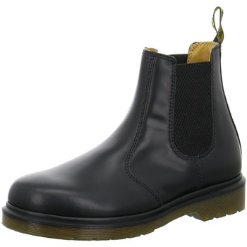 Schuhe Damen Stiefel Dr. Martens Airwair Chelsea Black Smooth 11853001 2976 schwarz