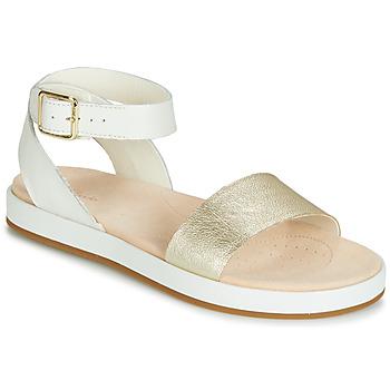 Schuhe Damen Sandalen / Sandaletten Clarks BOTANIC IVY Weiss